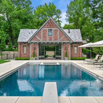 English Garden & Pool House