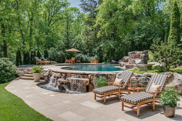 Mediterranean Pool by Chateau Properties, Inc.