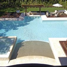 Mediterranean Pool by Perello Building Corporation