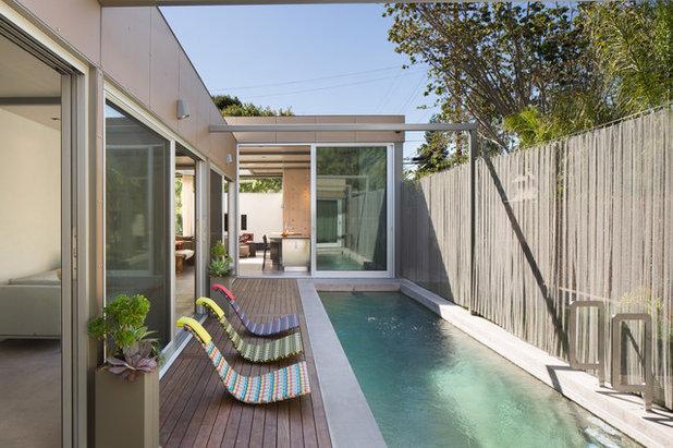Contemporary Swimming Pool by Dawson & Clinton