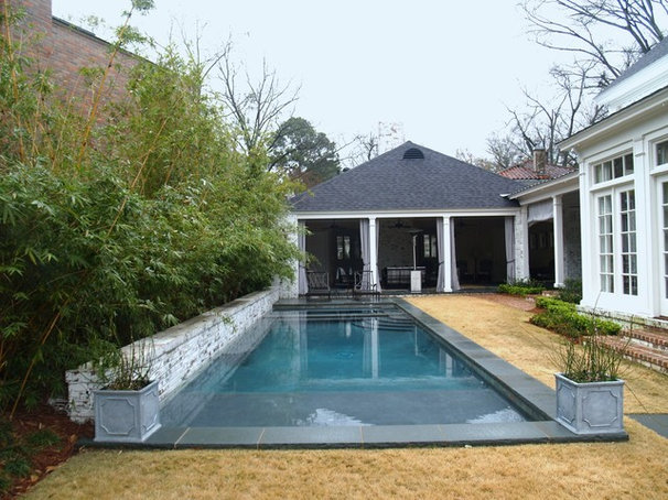 Contemporary Pool by Ewing Aquatech Pools