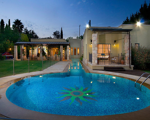 Lap swimming pool home design ideas pictures remodel and for Pool design houzz