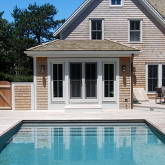 traditional pool by Peter McDonald Architect