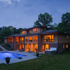 Contemporary Pool by RWA Architects