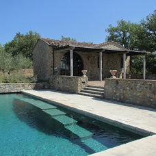 Mediterranean Pool by Ancient Surfaces