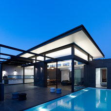 Contemporary Pool by Steve Domoney Architecture
