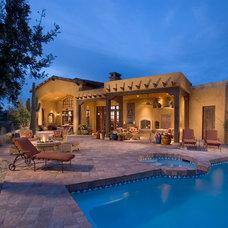 Southwestern Pool by Mooney Design Group, Inc.