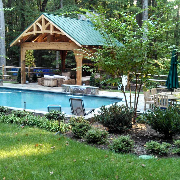 Fairfax Station Pool, Pavilion, & Fireplace