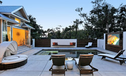 Family Entertaining in the Great Transformation from interior to exterior.