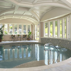 Traditional Pool by CBI Design Professionals, Inc.
