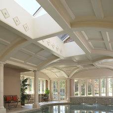 Traditional Pool by CBI Design Professionals, Inc.