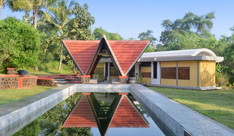 Thane Houzz: This Ecologist's Farmhouse Grows Out of the Earth