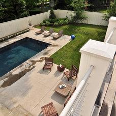 Farmhouse Pool by Wells Design Associates