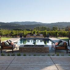 Farmhouse Pool by Artistic Designs for Living, Tineke Triggs