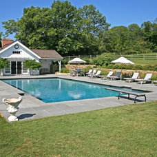 Farmhouse Pool by Rin Robyn Pools