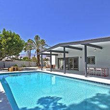 Midcentury Pool by American Coastal Properties