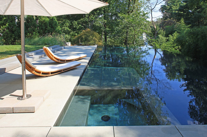 Modern Pool by Lewis  Aquatech