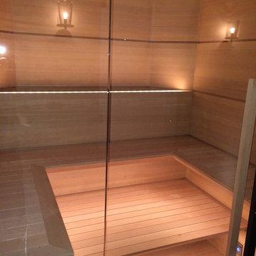 Featured Sauna in Architectural Digest!