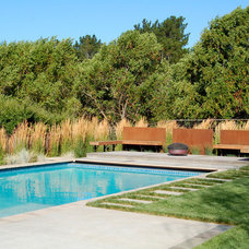 Industrial Pool by Huettl Landscape Architecture
