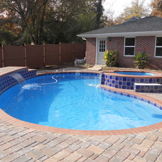 Traditional Pool by Ecological Pool Systems