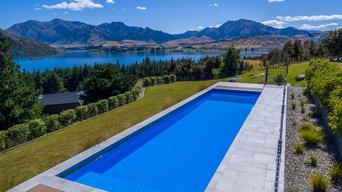 Fibreglass swimming pools