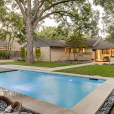 Contemporary Pool Finished House