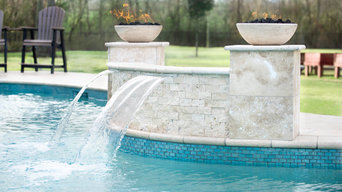 Fire and Fountain Feature