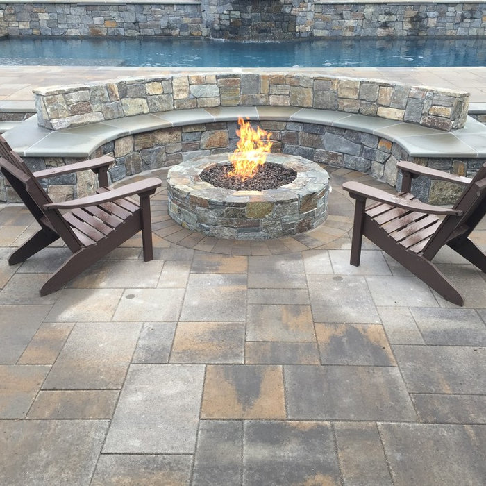 Danville New Construction Fire Pit