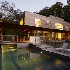 Contemporary Pool by Wheeler Kearns Architects