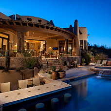 Southwestern Pool by Sonoran Classic Builders