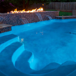 Fireplaces & Fire Pits - Fire and Water Display