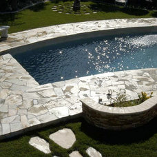 Mediterranean Pool by M S International, Inc.