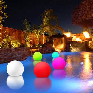 Floating Color Changing LED Spheres/Glowballs