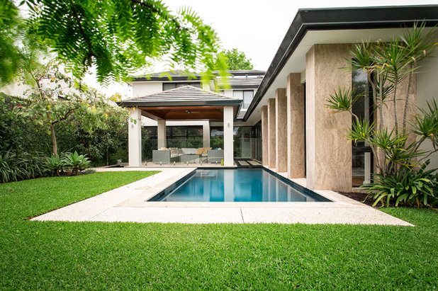 Tropical Pool by Tim Davies Landscaping | Perth