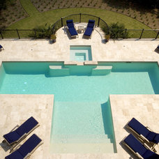 Eclectic Pool by Solaris Inc.