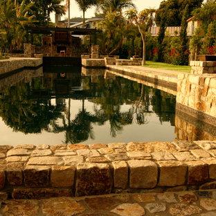 Новые идеи обустройства дома: бассейн в стиле фьюжн