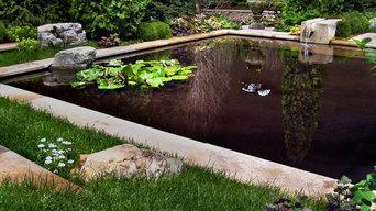 Formal Water Garden