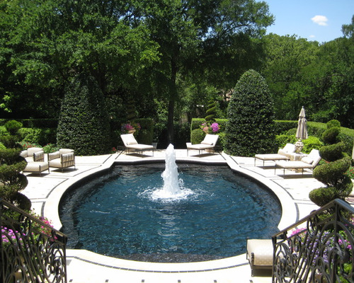 Swimming Pool Fountain Ideas inspirations modern swimming pools decorations with fountains design ideas modern pool with fountain Pool Fountains Spitters