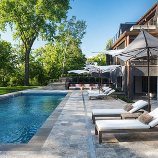 75 Beautiful Contemporary Pool Pictures & Ideas | Houzz