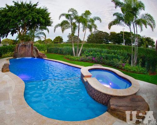 Kidney Shaped Aboveground Pool Design Ideas Renovations