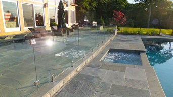 Frameless Glass Pool Fence - West Cornwall