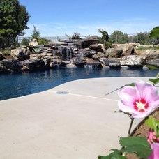 Modern Pool by Signature Quality Pools, LLC