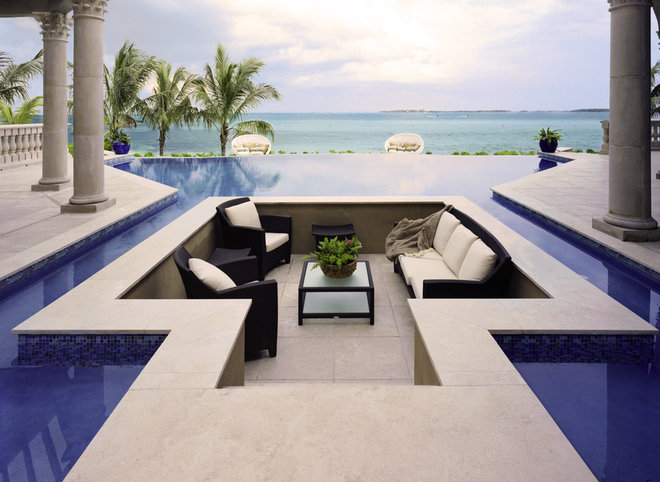 traditional pool by Franco A. Pasquale Design Associates, Inc