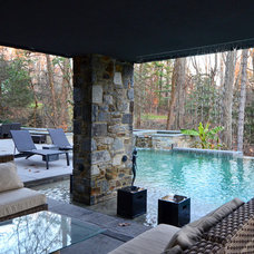 Contemporary Pool by Jeanine Turner