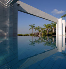 modern pool by Francis Landscapes