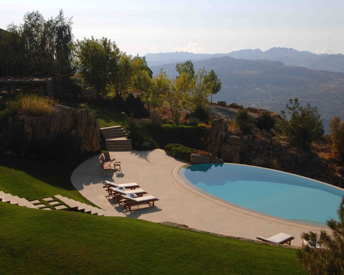 Hillside pool ideas pictures remodel and decor for Hillside pool ideas