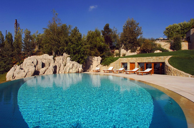 Mediterranean Pool by Francis Landscapes