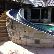 Eclectic Pool by Cascade Custom Pools