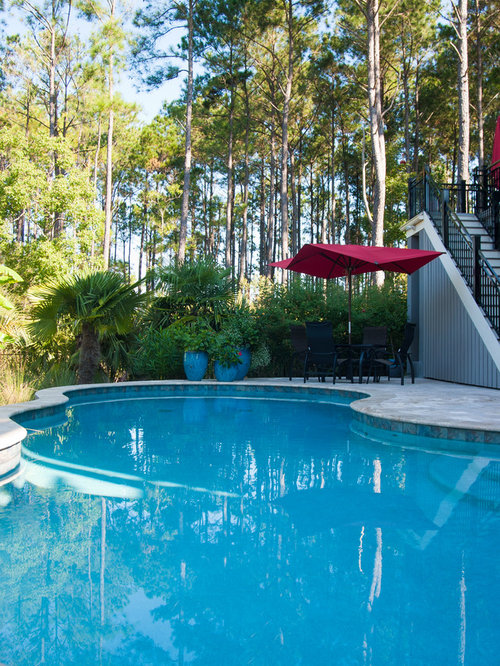 Free Form Swimming Pool Design In Mt Pleasant Sc