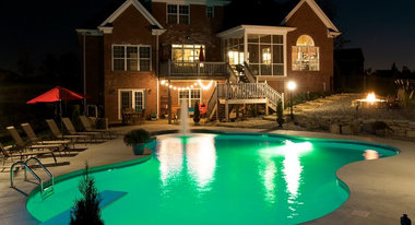 Louisville swimming pool spa professionals for Pool design louisville ky